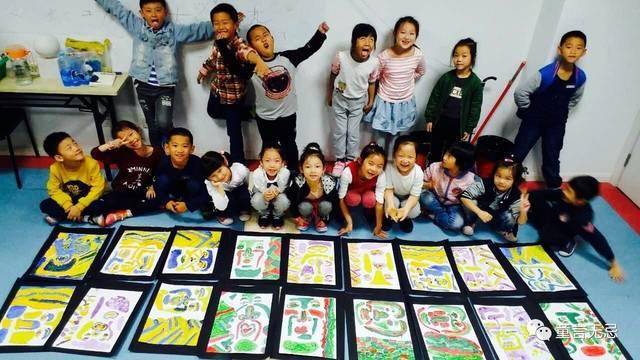 学好画画!孩子们的未来更精彩!