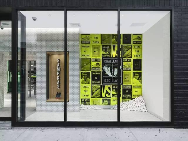 耐克STEALTHESHOW2015户型VI+室内设计小品牌家具的设计理念图片
