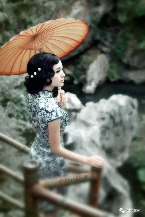 美人��+�yd%zlo_【静谧世界】唱出来的《旗袍美人》,古典唯美,听醉了