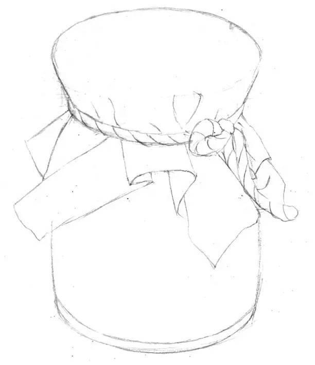 简笔画 手绘 线稿 612_710