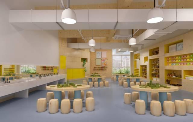 艺术资源室 幼儿园还拥有意大利瑞吉欧中国中心在中国指导的高端民办图片