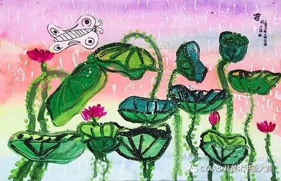 火烈鸟彩铅画手绘教程