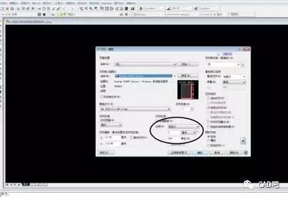 cad设置图纸打印成1:1图纸吃比例的e维图片