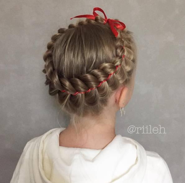 六一儿童节|这是我见过最美的创意儿童扎发!(附扎发教程)
