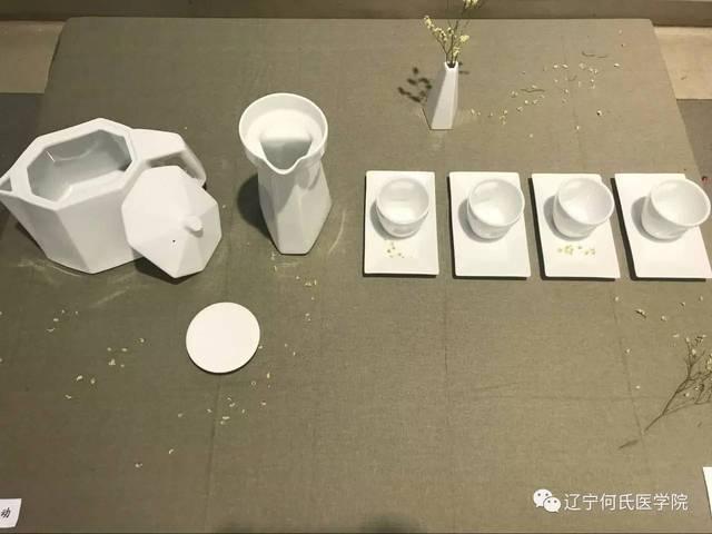 产品设计专业张弘《粗茶淡饮》陶艺设计作品