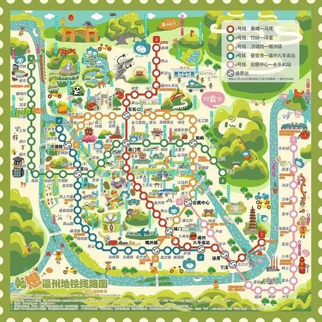 手绘一份镇海城区地图