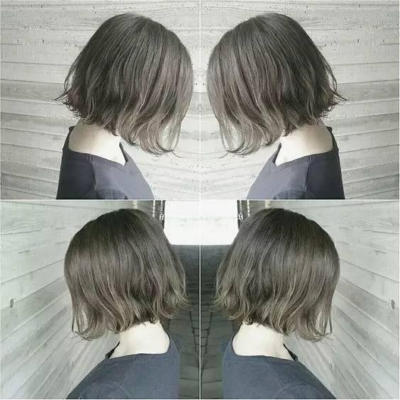 「外翘发型」睡醒不用梳头也很自然漂亮!喜欢短发的你
