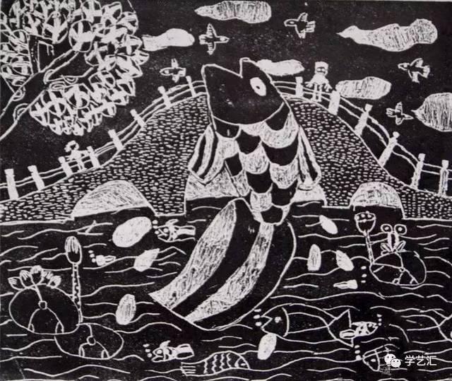 儿童版画|关于吹塑纸的创意联想