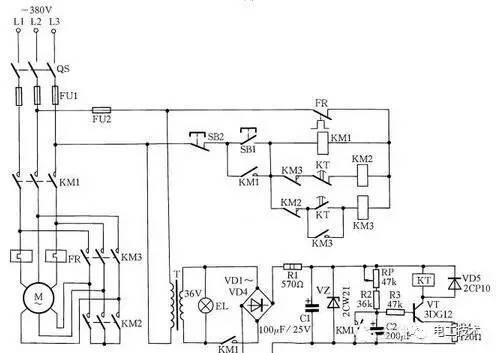 18种电动机降压启动电路图图片