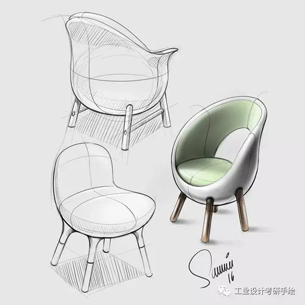 家具设计手绘草图