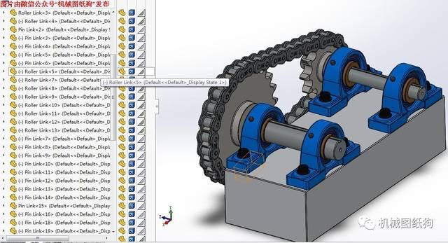 【差减变速器】链轮图纸v链轮数模3D欧美链条斜顶装修设计图片