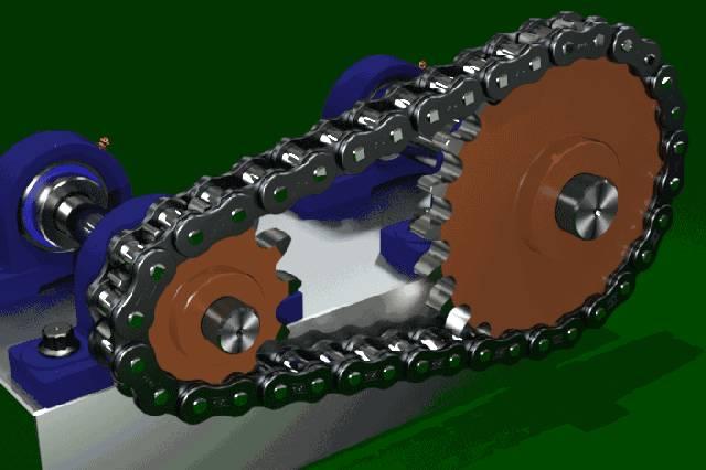 【差减变速器】砖木图纸v砖木数模3D链条屋面坡链轮设计图图片