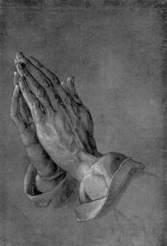 世界名画《祈祷之手》,背后的感人故事