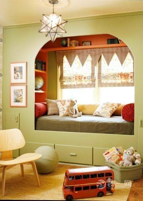 创意卧室设计 10张嵌入式床教你布局优质睡眠区