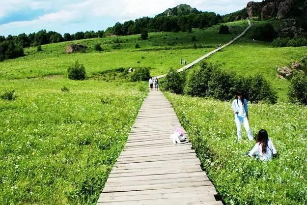 门头沟百花山风景区健步道