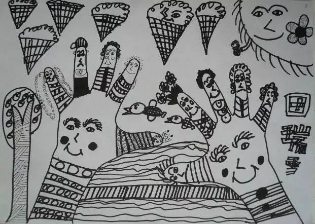 幼儿园线描画的教学步骤,不会的一定要看