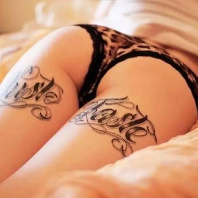女生这些私密部位的纹身,性感得让人窒息!