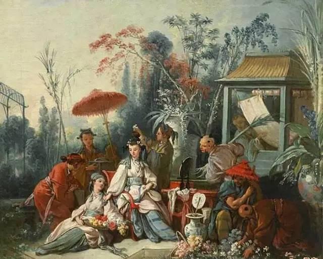 十八世纪欧洲:最炫的是中国风图片