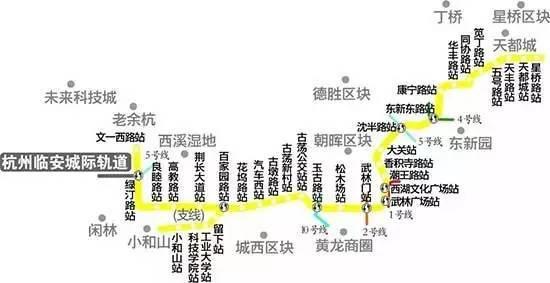 杭州地铁又有新动静!3号线一期,5号线二期,9号线一期图片