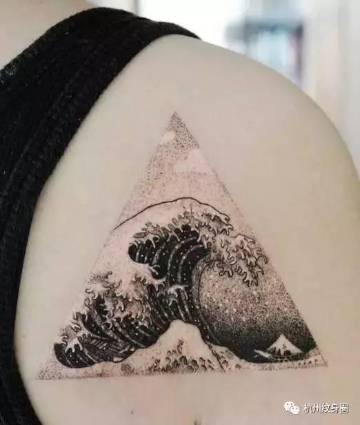 tattoo | 纹身素材:浪花