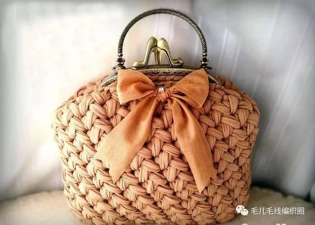 布条线,真是太适合用来织包包了啊!