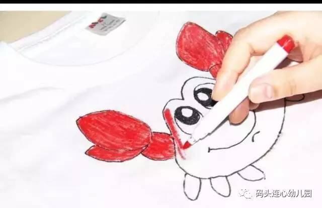 活动主题:亲子手绘t恤(本次活动所需材料均由连心幼儿园免费提供)