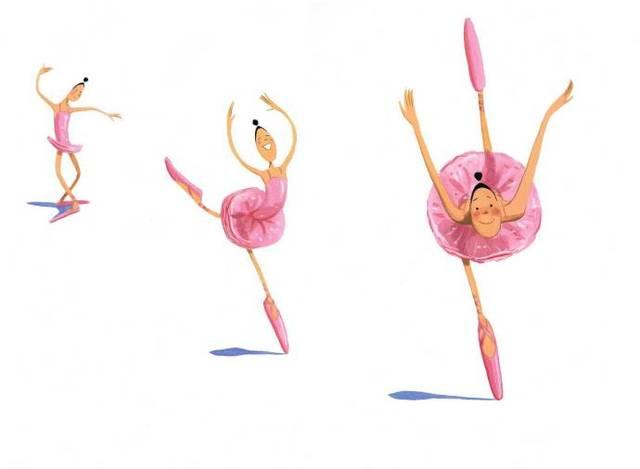 【睡前故事】大脚丫跳芭蕾:相信自己,坚持梦想.图片