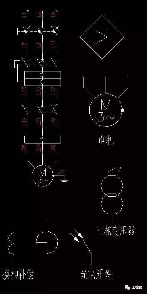 修改标准:讲堂工程师必知!图形cad电气v标准常用电气cad怎么插入块点的自信图片