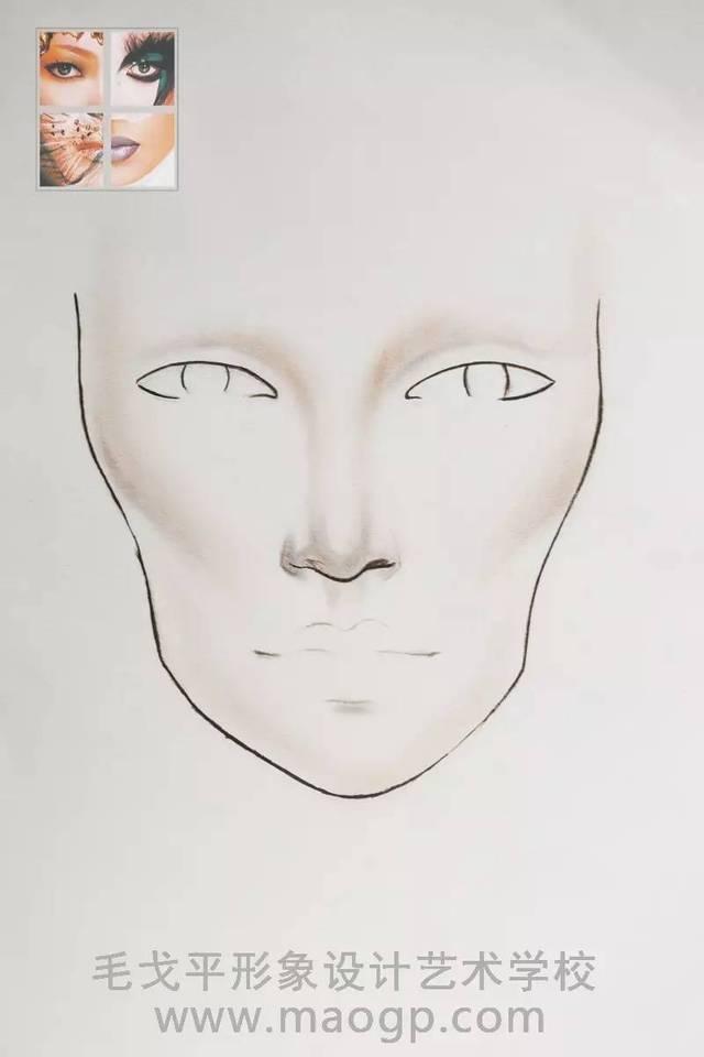 段在一个平面的纸上体现立体的五 通过创作者对审美的理解运用,与图片