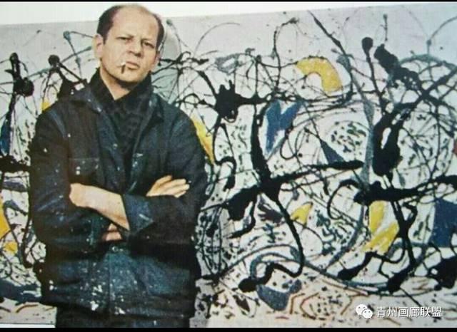 关注| 二战后崛起的纽约画派与中国现代主义文人油画!图片