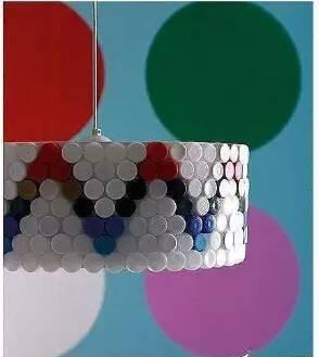 创意手工 瓶盖与碎纸,小手工里的大智慧