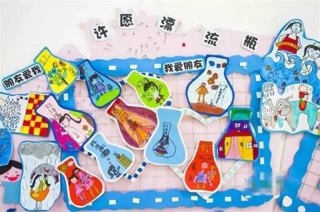 享幼儿园美术,简笔画,儿童画, 纸盘手工主题墙   好大一棵树