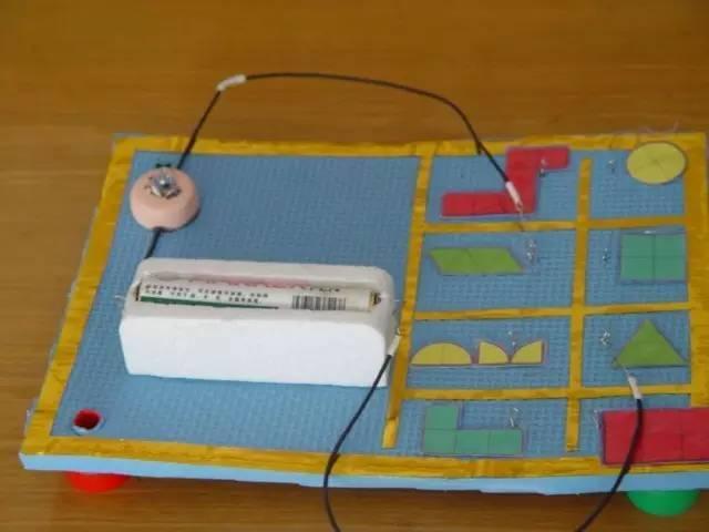 幼儿园科学区投放材料之自制教玩具