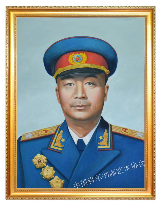 开国十大元帅肖像油画图片