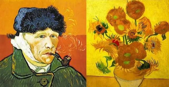 梵高《向日葵》