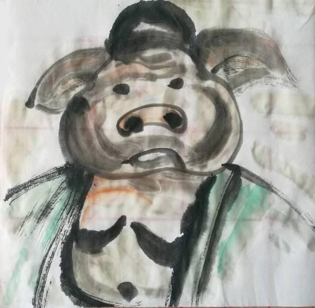 导师: 猪八戒都长一个模样,那是高度概括出来的戏曲形象,本身就是