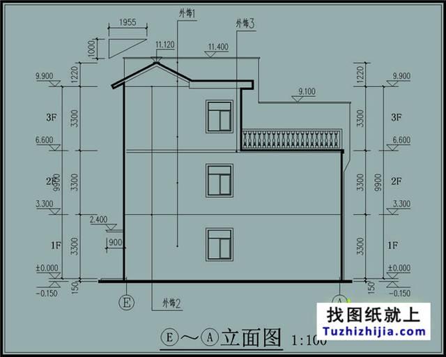 180平新农村双拼房屋设计,适合自己才是最好的!