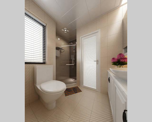新中式风格 建筑面积:133平米 装修投入:14w 主要材料:墙漆,木格,墙纸图片