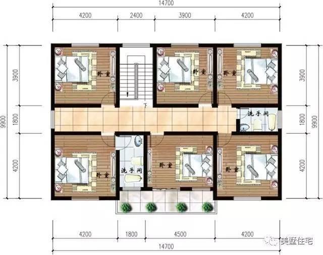 15x10米3层农村自建房,14间卧室,你丫的家里开宾