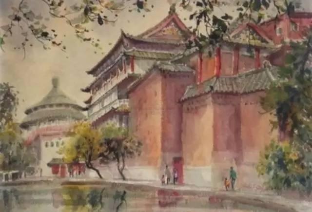 """林海音说:""""我是多么想念童年住在北京城南的那些景色和人物啊!图片"""