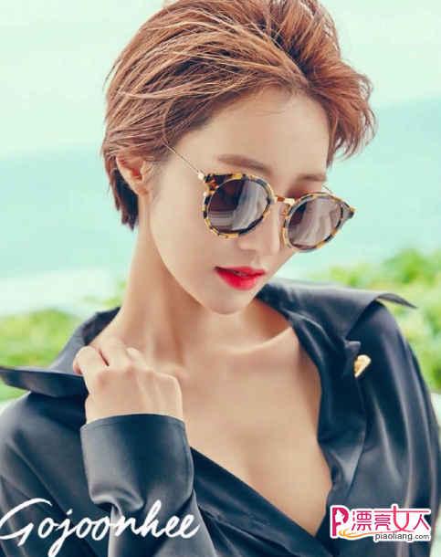 高俊熙短发 发色 韩式潮流发型图片图片