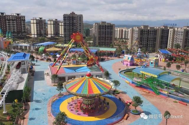 欢乐谷坐落于大理市海东新城木莲公园南侧,是滇西地区的大型游乐园.