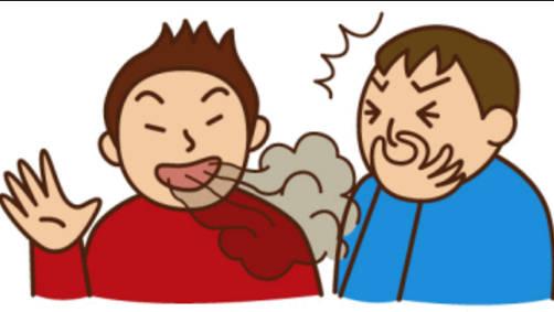 戴口罩能闻到别人口臭吗_戴口罩口臭图片