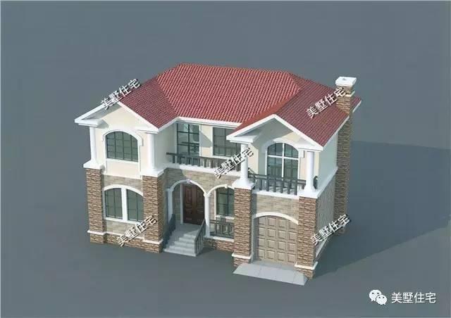 13x8米农村自建房,这套别墅建造村里,将成为最有特色一栋