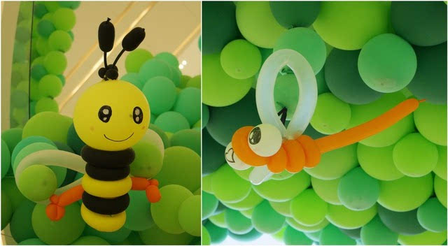 小蜜蜂,小蜻蜓,一注意到就被萌翻啦图片