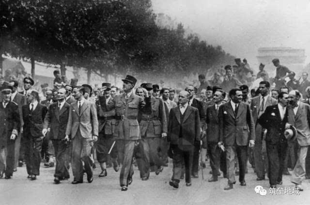自一次刺杀起家!二战自由法国的抗争纳粹德国之路
