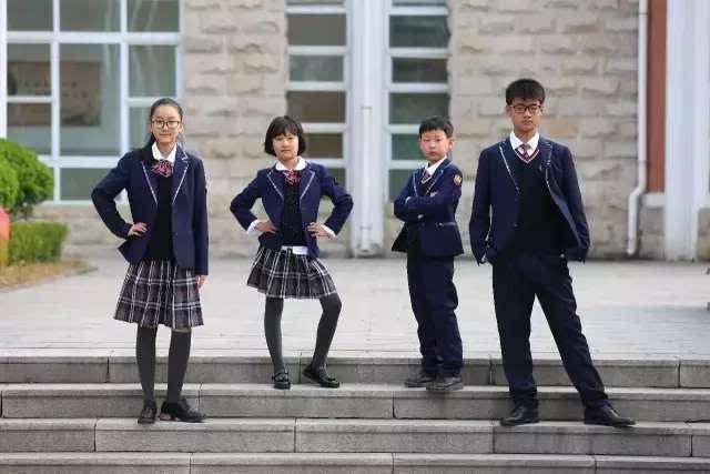 快看, 潍坊这些学校免费校服样式确定了!