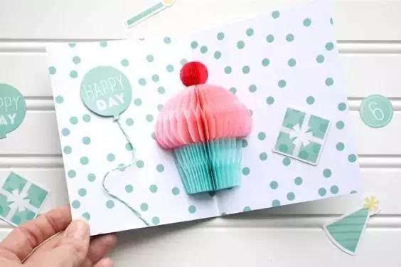 幼儿园亲子手工之创意贺卡:每一款都包含满满的爱