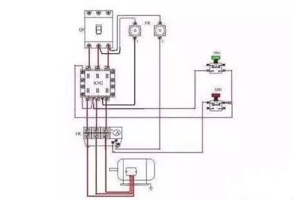 这样,一个继电器得电动作,另一个继电器线圈上就不可能形成闭合回路.