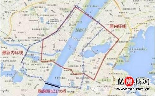 武汉五环线最新规划图曝光?